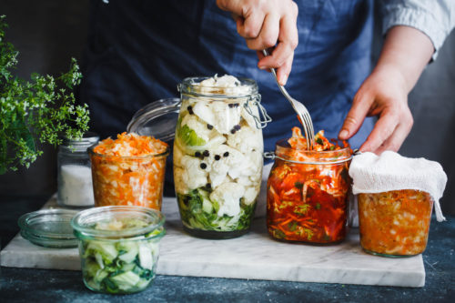 Fermented Foods. Best foods for colon health